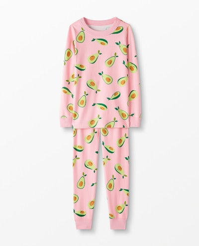 Organic Cotton Long John Pajamas