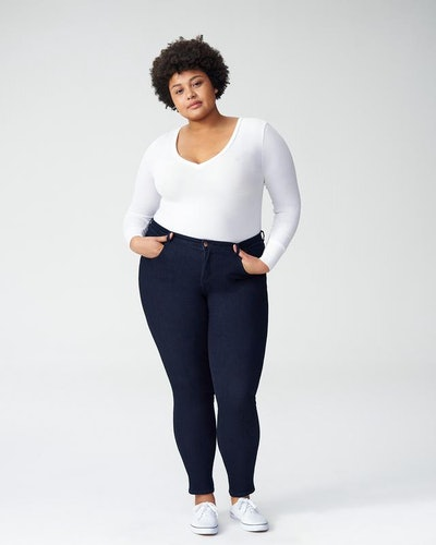 Seine Mid Rise Skinny Jeans