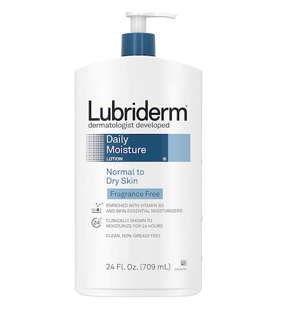 Lubriderm Daily Moisture Unscented Body Lotion