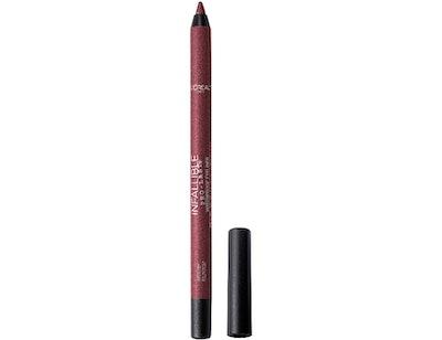 L'Oreal Paris Makeup Infallible Pro-Last Pencil Eyeliner (Burgundy)