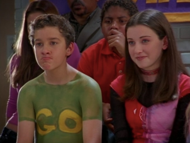 Shia LaBeouf and Margo Harshman in Disney's 'Even Stevens'