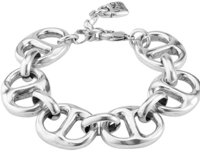 UNOde50 Bracelet in Metal clad with Silver.