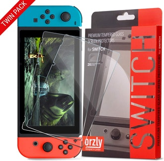 Orzly Glass Screen Protector (2-Pack)