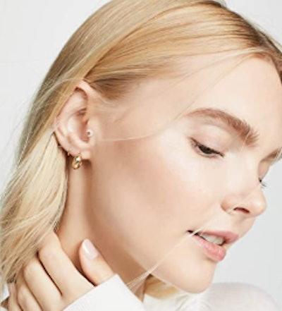 Women's 14k Gold Huggie Hoop Earrings