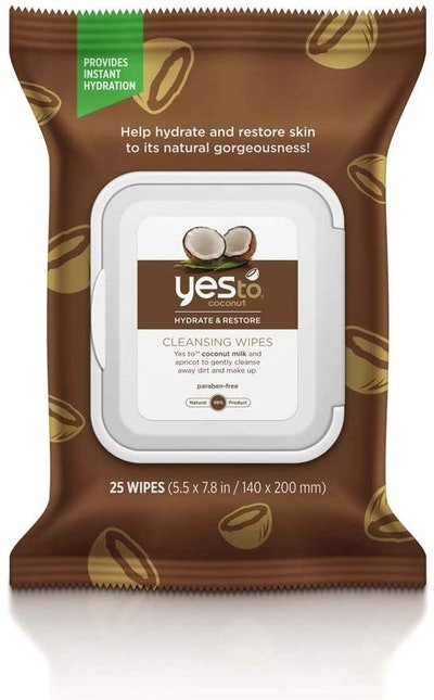 Yes To Coconuts Ultra Hydrating Cleansing Wipes (25-Pack)