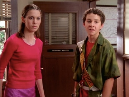 Christy Carlson Romano and Shia LaBeouf in Disney's 'Even Stevens'