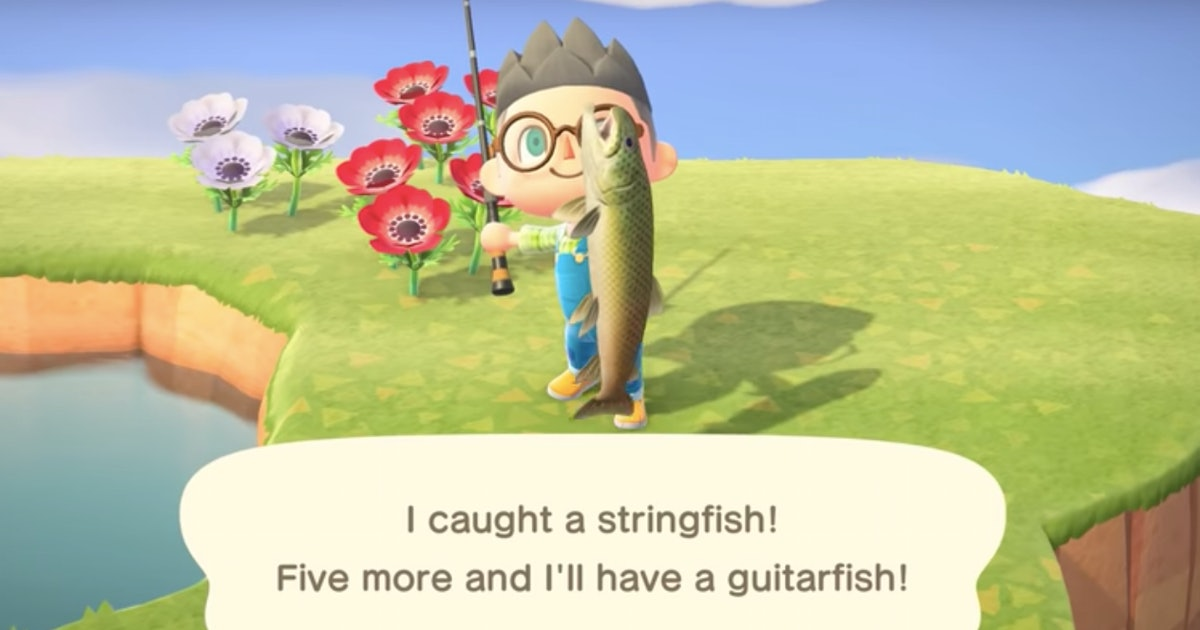 Follow these 4 easy steps to catch the valuable Stringfish in 'New Horizons'