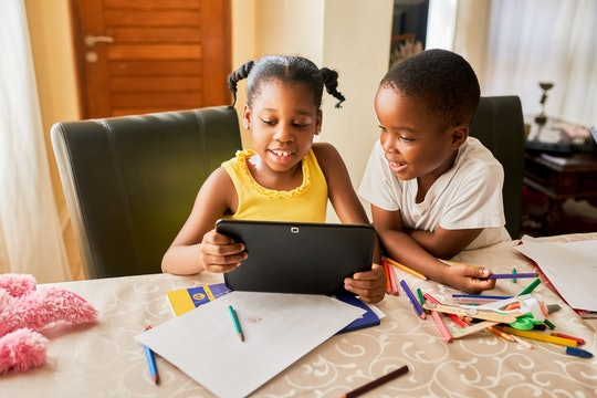 kids using virtual playdate app