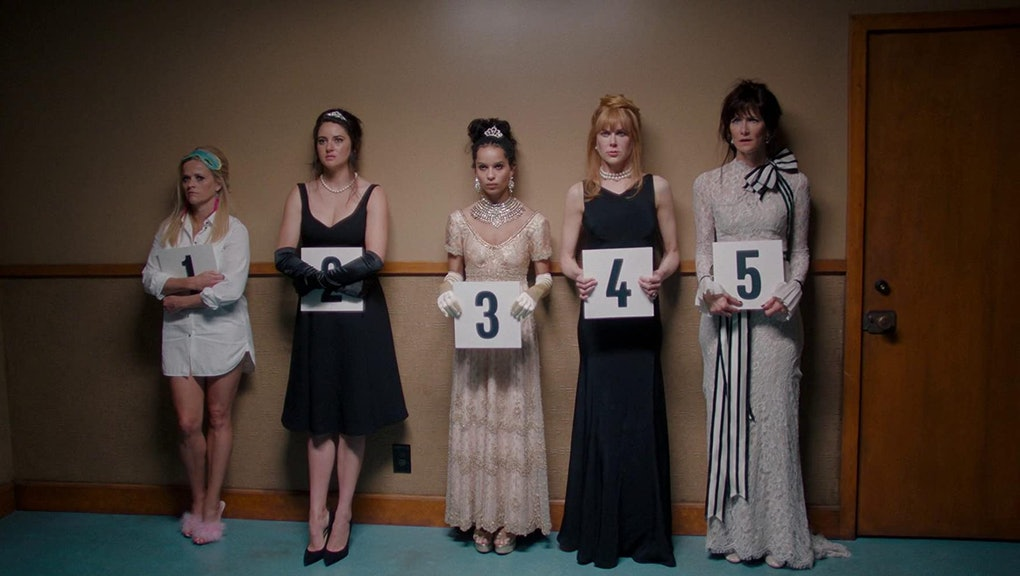 Nicole Kidman, Laura Dern, Reese Witherspoon, Shailene Woodley, and Zoë Kravitz in 'Big Little Lies.' © 2019 - HBO