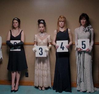 Nicole Kidman, Laura Dern, Reese Witherspoon, Shailene Woodley, and Zoë Kravitz in 'Big Little Lies.' © 2019 - HBO