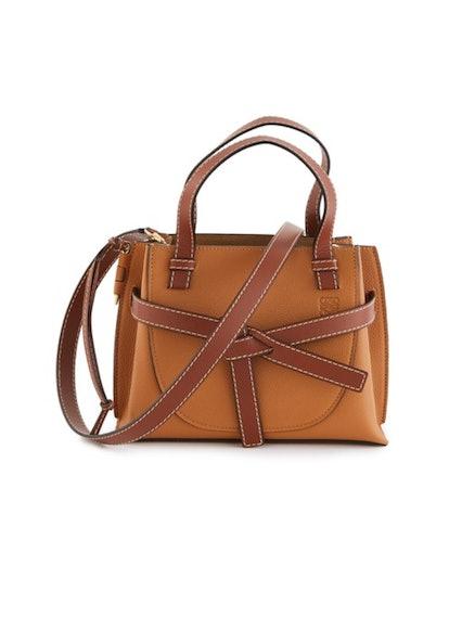 Gate Top Handle Shoulder Bag