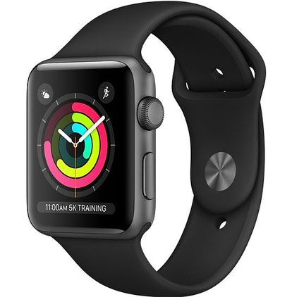 Space Gray Aluminum Case With Band