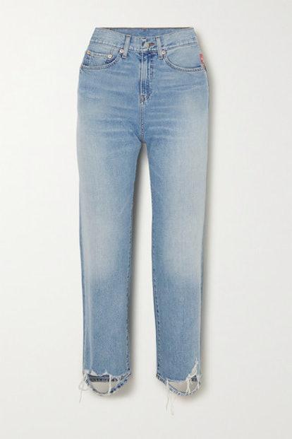 Pierce Cropped Jeans