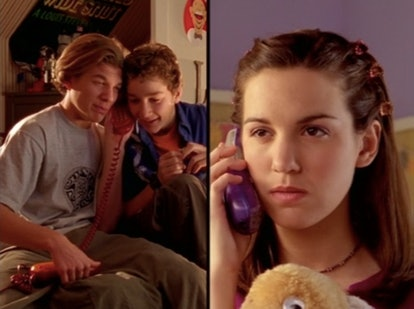 Shia LaBeouf and Christy Carlson Romano in Disney's 'Even Stevens'