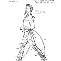 Extremely steampunk leg attachments could let humans run 46 miles per hour