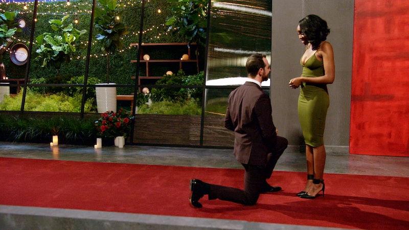 Cameron proposing to Lauren on 'Love Is Blind'