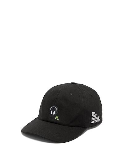 Logo-Patch Canvas Baseball Cap