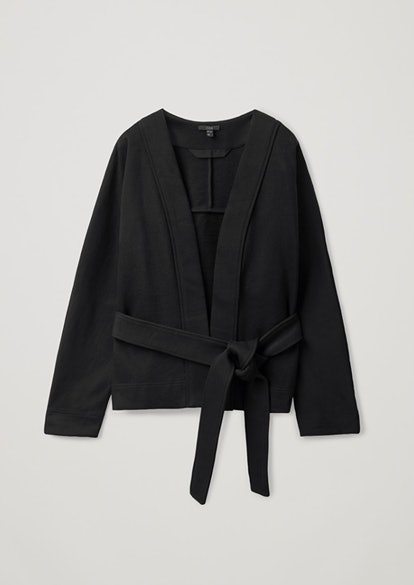 Cotton Jersey Cardigan