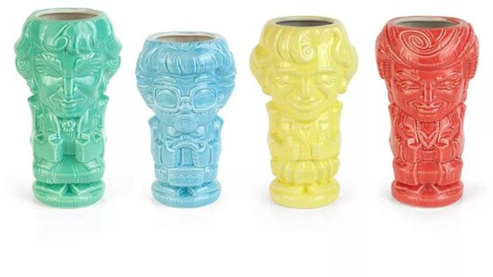 Golden Girls Ceramic Geeki Tiki Mugs