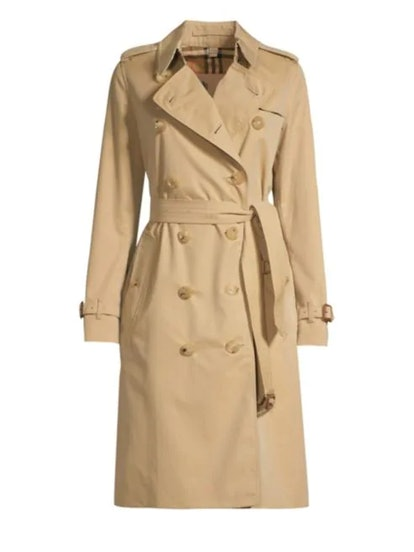 Heritage Kensington Long-Length Trench Coat