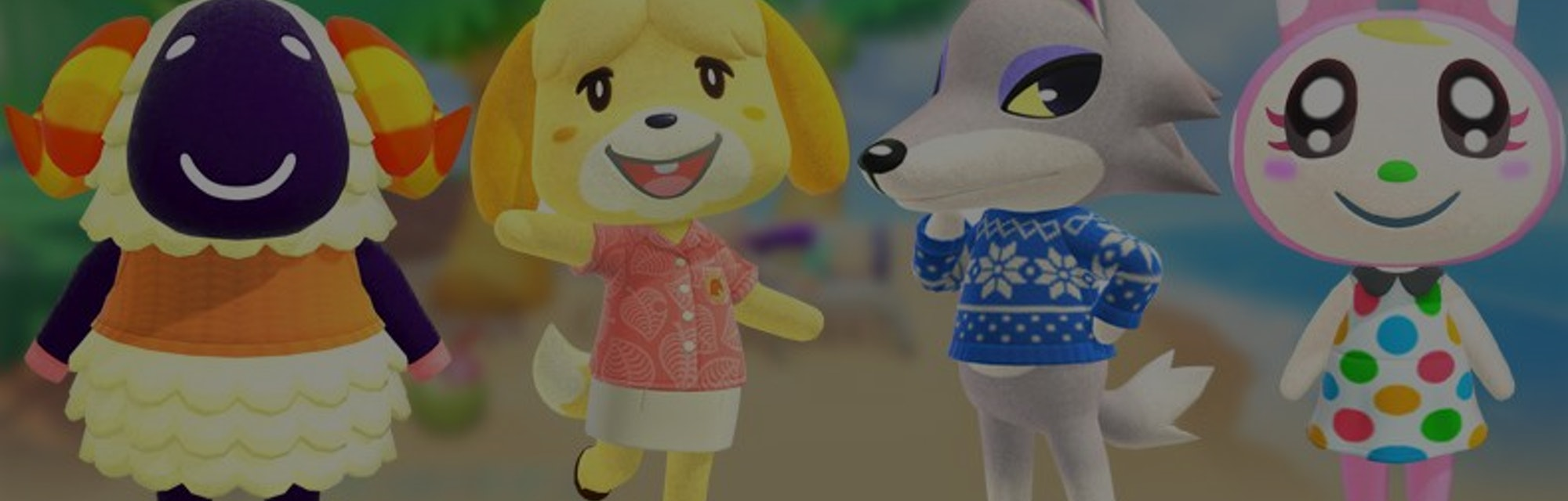 cute animal crossing characters names