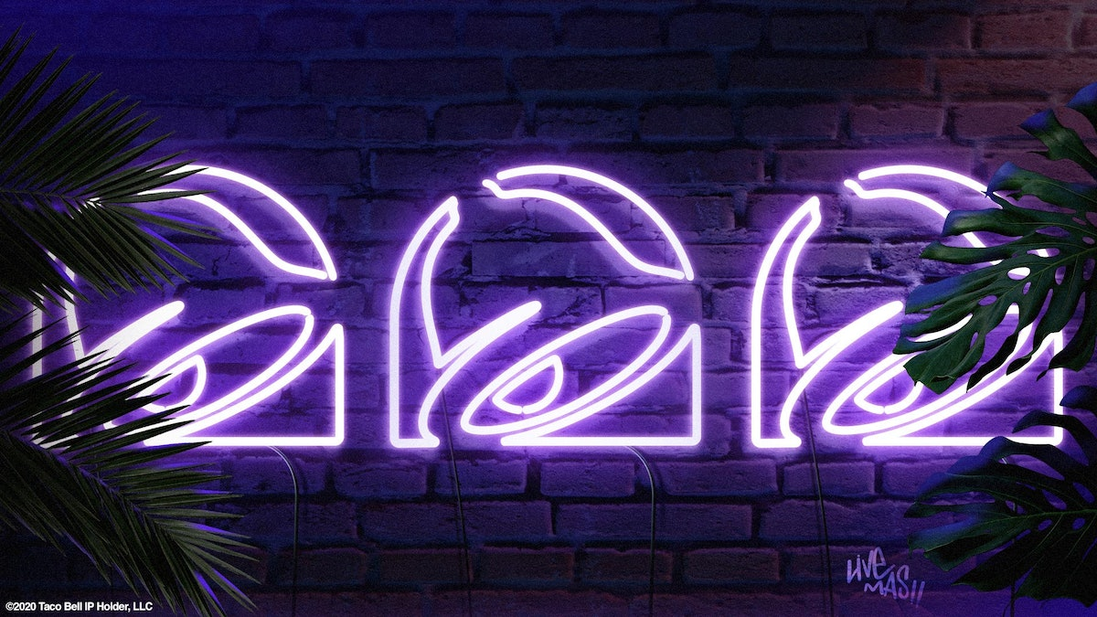 Taco Bell's new backgrounds for Zoom are so fire, you'll want them all.