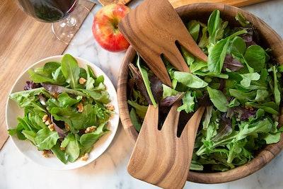 Ironwood Gourmet Kodiak Bear Claw Salad Server Set