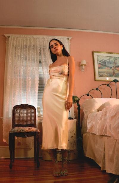 Bandana Slip Dress