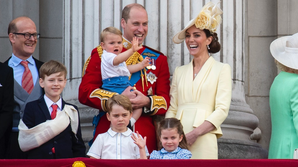 Here's A Video Of George, Charlotte, & Louis Thanking Coronavirus First Responders