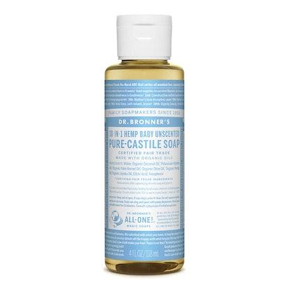 Dr. Bronners Pure-Castile Liquid Soap (Unscented)