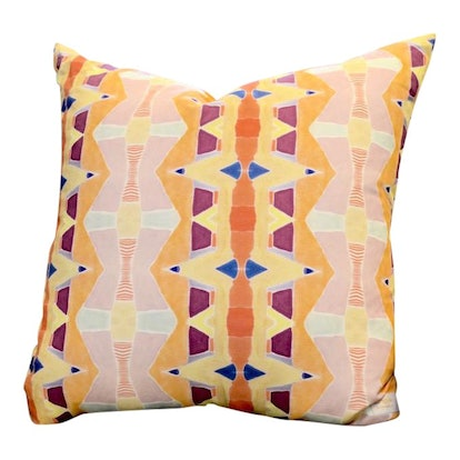 Multicolored Shay Spaniola for Bunglo Pillow