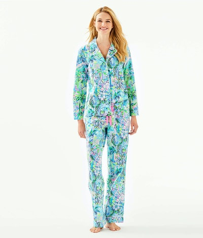 """Lilly Pulitzer 31"""" PJ Woven Pant"""