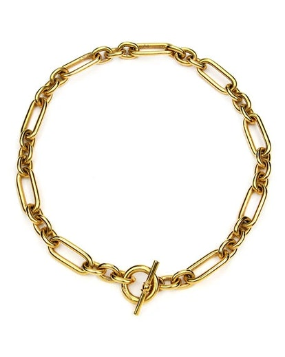 Short Chain-Link Necklace
