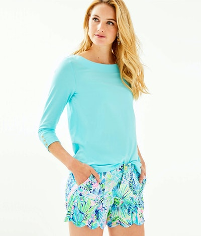 """Lilly Pulitzer 5"""" Buttercup Knit Short"""