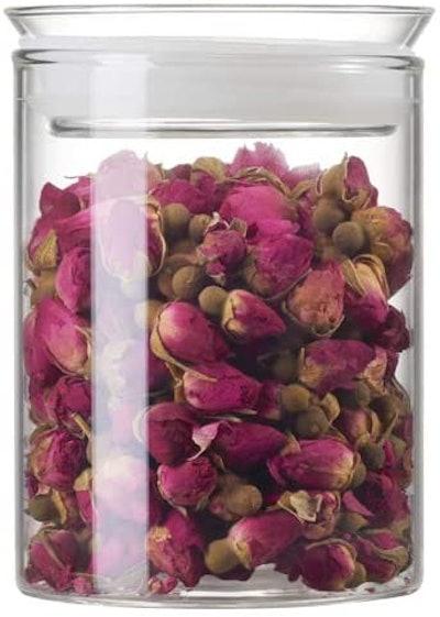 ZENS Airtight Glass Jar Container (15 oz)