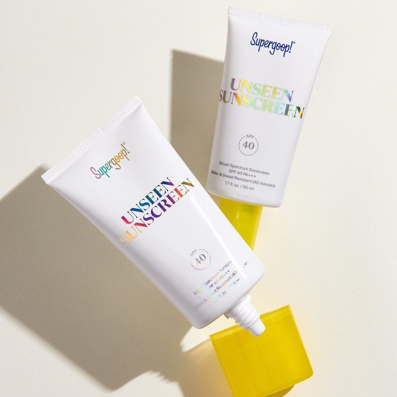 Supergoop!'s Unseen Sunscreen is now available in a larger 2.5 fluid ounce bottle.