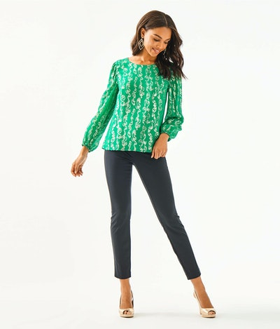 """Lilly Pulitzer 29"""" Kelly Knit Skinny Ankle Pant"""