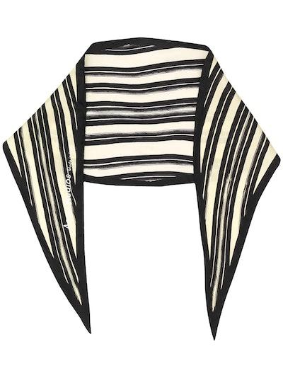 Striped Silk Bandana