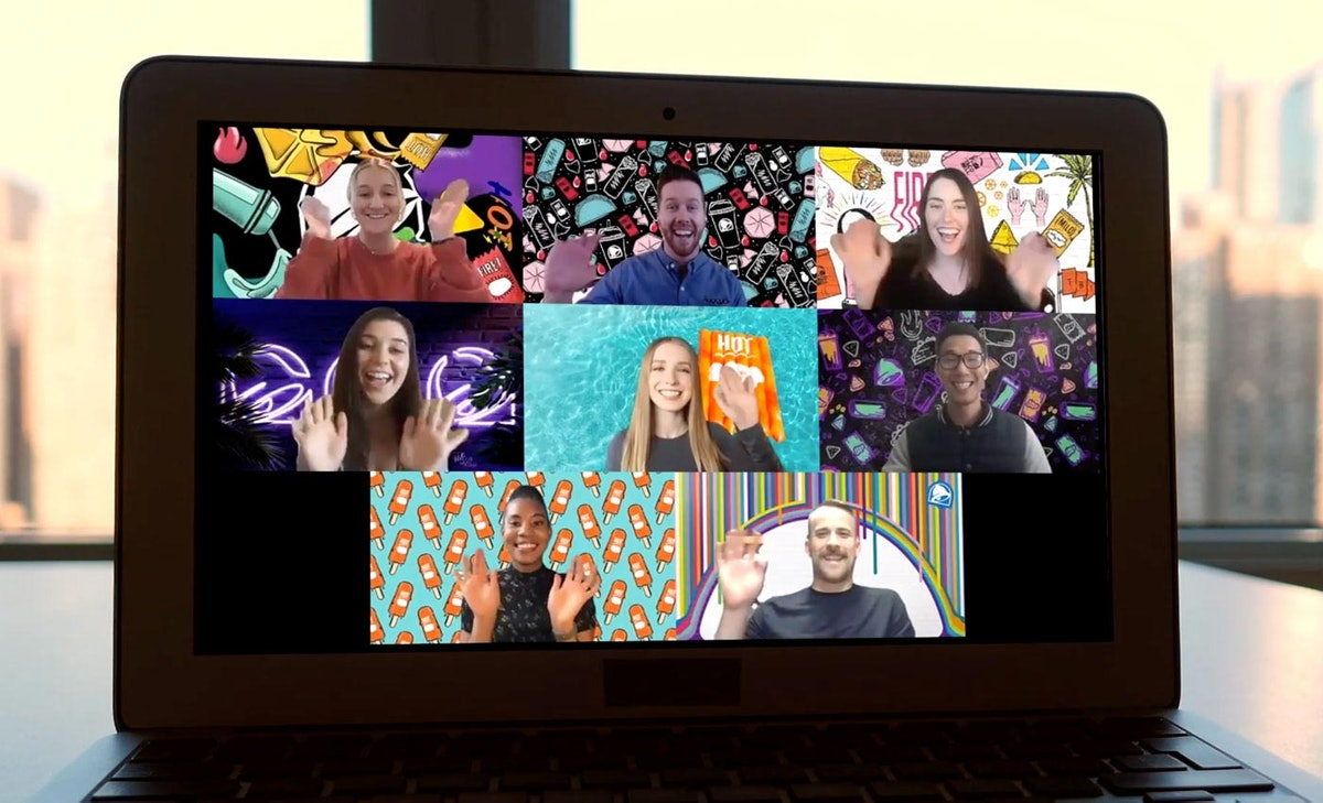 Taco Bell's new backgrounds for Zoom will take your meetings to another level.