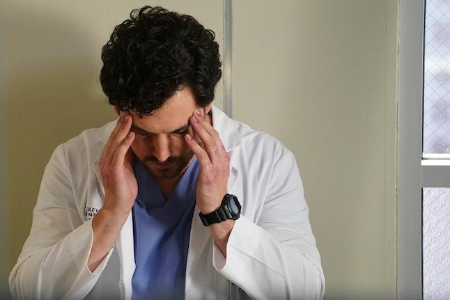DeLuca is headed down a dark path on Grey's Anatomy.