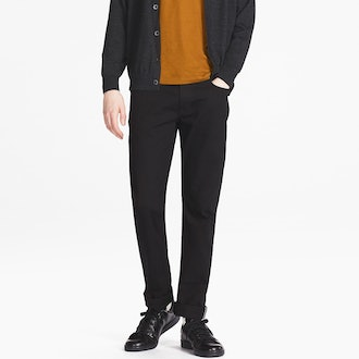 UNIQLO Selvedge Slim-Fit black denim