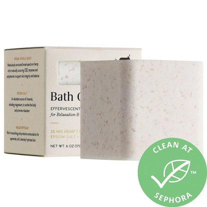 Bath Gem Effervescent CBD Mineral Soak for Relaxation & Recovery