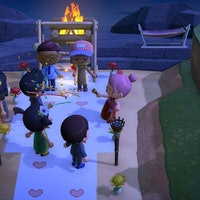 'Animal Crossing: New Horizons' held a surprise wedding. Here's the true story.