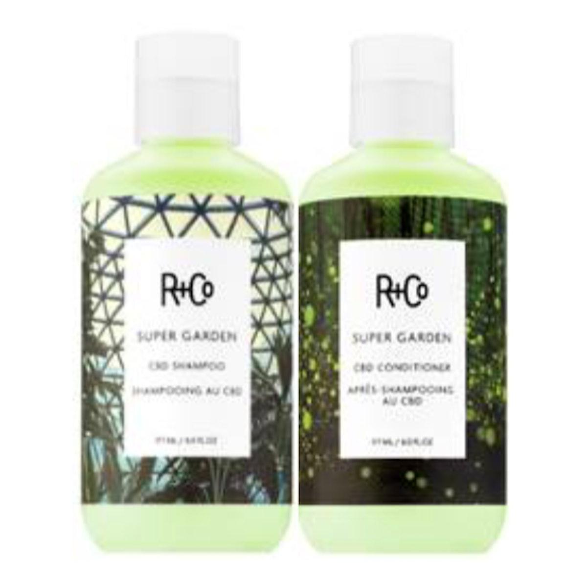 Super Garden CBD Shampoo + Conditioner