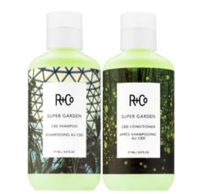 Super Garden CBD Shampoo + Conditioner