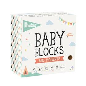 Mileston Baby Age + Moments Blocks