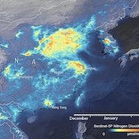 Covid-19: Satellite data reveal global air pollution levels plummeting