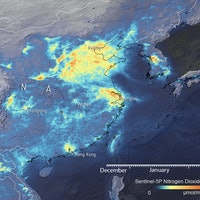 Covid-19: Satellite data reveal global air pollution levels plummeting