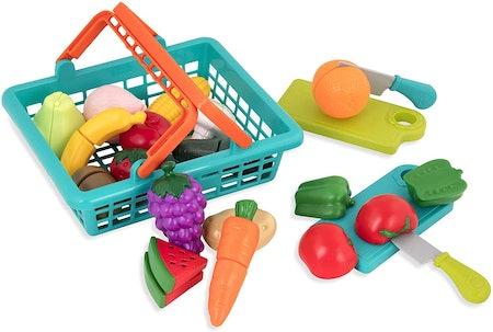 Battat Farmers Market Basket (37 Pieces)