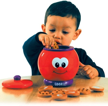 The Learning Journey Count & Learn Cookie Jar
